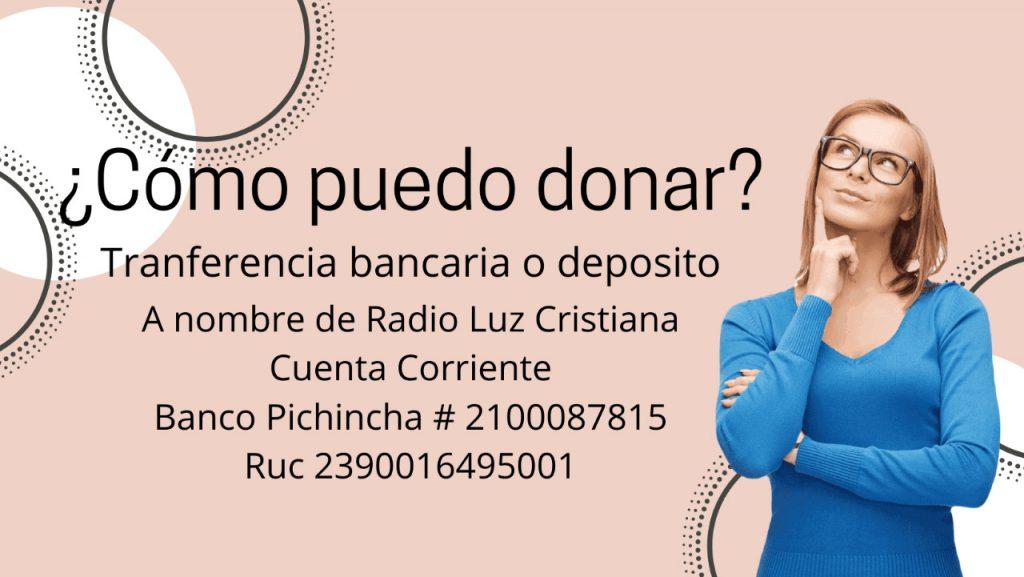 Donaciones Radio Luz
